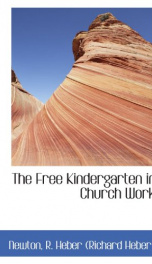 the free kindergarten in church work_cover