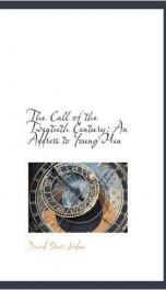 The Call of the Twentieth Century_cover