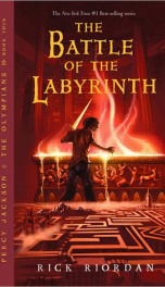 The Battle of the Labyrinth_cover