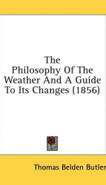 the philosophy of the weather and a guide to its changes_cover