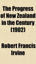 the progress of new zealand in the century_cover