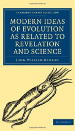 modern ideas of evolution as related to revelation and science_cover