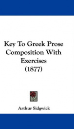 key to greek prose composition with exercises_cover