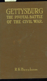 gettysburg the pivotal battle of the civil war_cover
