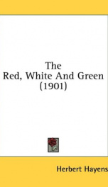 the red white and green_cover