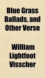 blue grass ballads and other verse_cover