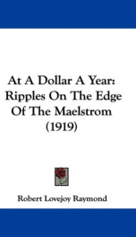 at a dollar a year ripples on the edge of the maelstrom_cover