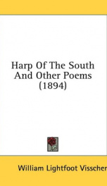 harp of the south and other poems_cover