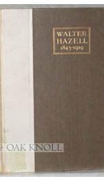walter hazell 1843 1919_cover