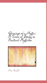gleanings of a mystic a series of essays on practical mysticism_cover