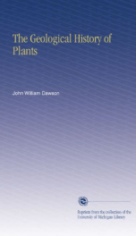 the geological history of plants_cover