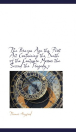 the brazen age the first act containing the death of the centaure nessus the_cover
