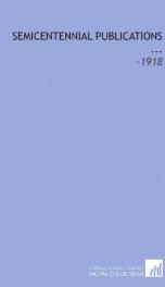 semicentennial publications_cover