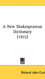 a new shakespearean dictionary_cover
