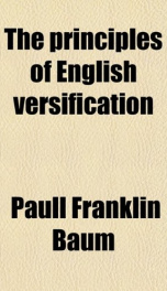 The Principles of English Versification_cover