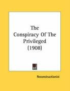 the conspiracy of the privileged_cover