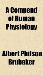 a compend of human physiology_cover