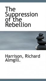 the suppression of the rebellion_cover