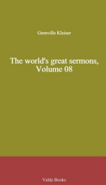 The world's great sermons, Volume 08_cover