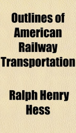 outlines of american railway transportation_cover