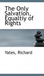 the only salvation equaltiy of rights_cover