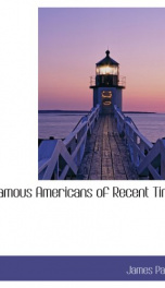 Famous Americans of Recent Times_cover