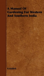 a manual of gardening for western and southern india_cover