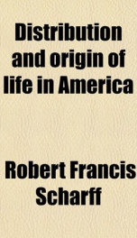 distribution and origin of life in america_cover