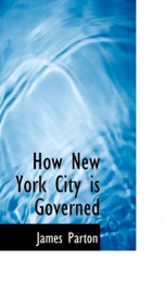how new york city is governed_cover