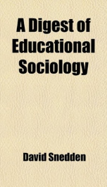 a digest of educational sociology_cover
