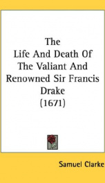 the life and death of the valiant and renowned sir francis drake_cover
