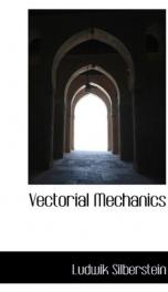 vectorial mechanics_cover
