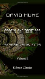 essays and treatises on several subjects volume 1_cover