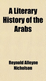 a literary history of the arabs_cover