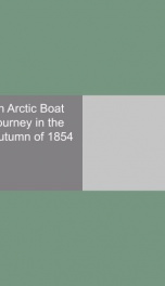 an arctic boat journey in the autumn of 1854_cover