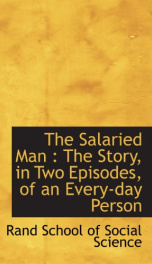 the salaried man the story in two episodes of an every day person_cover