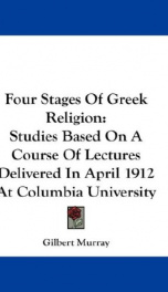 four stages of greek religion studies based on a course of lectures delivered_cover