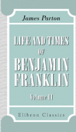 life and times of benjamin franklin volume 2_cover