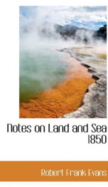 notes on land and sea 1850_cover
