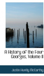 A History of the Four Georges, Volume II (of 4)_cover