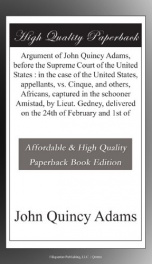 argument of john quincy adams before the supreme court of the united states in_cover