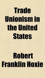 trade unionism in the united states_cover