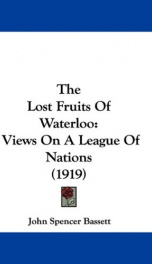the lost fruits of waterloo_cover