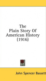 the plain story of american history_cover