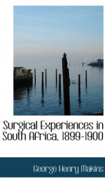 Surgical Experiences in South Africa, 1899-1900_cover