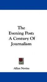 the evening post a century of journalism_cover