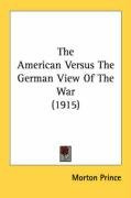 the american versus the german view of the war_cover