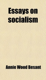 essays on socialism_cover