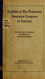 Exhibits of the Prudential insurance company of America_cover