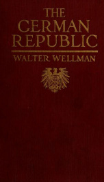 The German republic_cover
